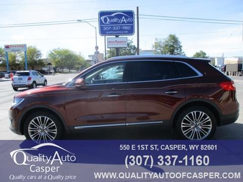 2016 Lincoln MKX for sale in Casper, WY