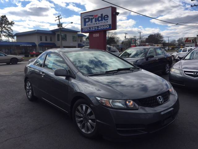 2009 Honda Civic EX-L 2dr Coupe 5A - Norfolk VA