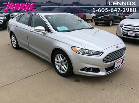 2015 Ford Fusion for sale in Lennox, SD
