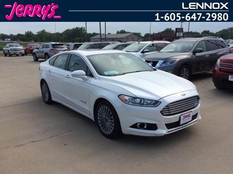 2013 Ford Fusion Hybrid for sale in Lennox, SD