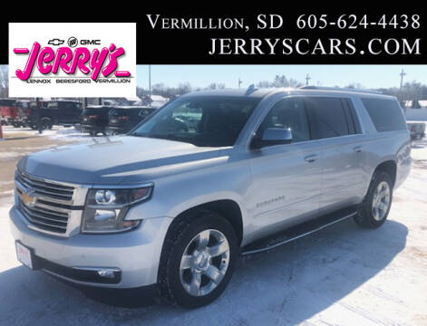 2016 Chevrolet Suburban LTZ 1500 for sale at Jerry's Auto Sales in Lennox SD