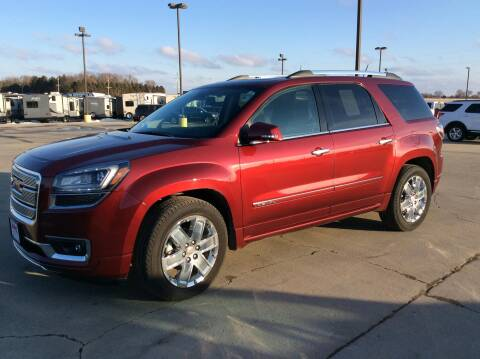 2015 GMC Acadia Denali for sale at Jerry's Auto Sales in Lennox SD
