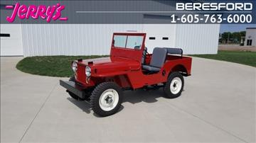 1948 Willys Jeep for sale in Lennox, SD