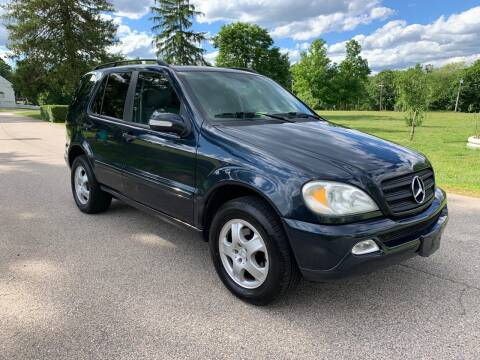 2002 Mercedes-Benz M-Class for sale at 100% Auto Wholesalers in Attleboro MA