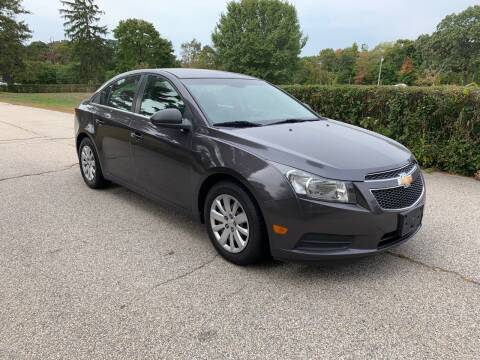 2011 Chevrolet Cruze for sale at 100% Auto Wholesalers in Attleboro MA
