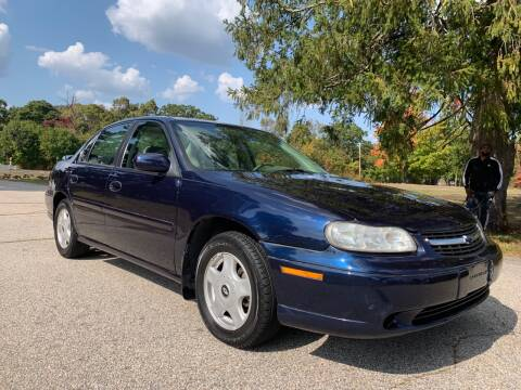2001 Chevrolet Malibu for sale at 100% Auto Wholesalers in Attleboro MA