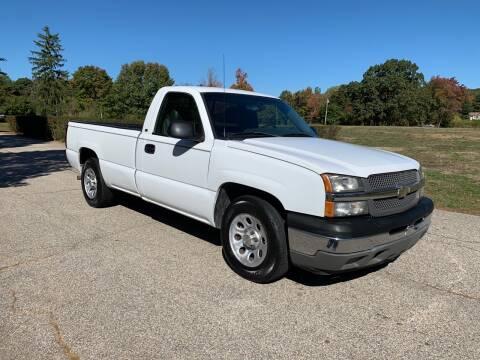 2005 Chevrolet Silverado 1500 for sale at 100% Auto Wholesalers in Attleboro MA