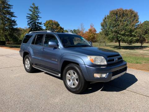 2004 Toyota 4Runner for sale at 100% Auto Wholesalers in Attleboro MA