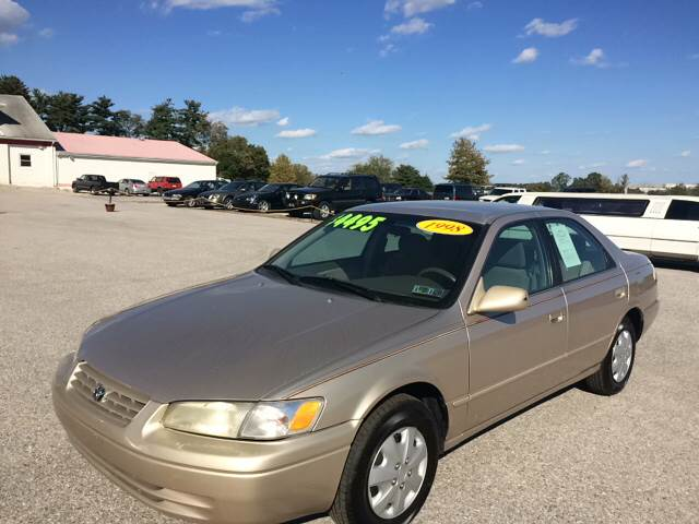 1998 Toyota Camry for sale at On-Site Auto Sales & Service in York PA