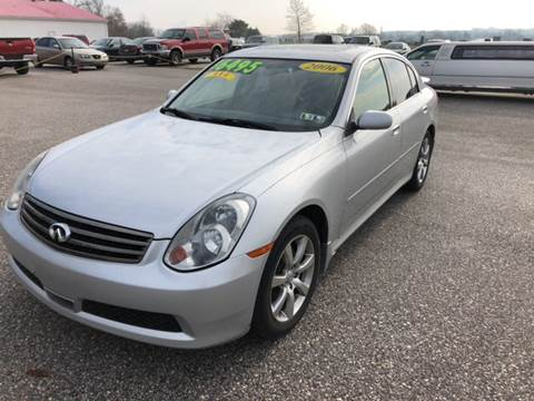 2006 Infiniti G35 for sale at On-Site Auto Sales & Service in York PA