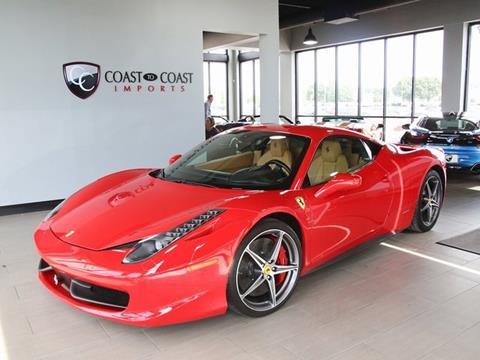 2011 Ferrari 458 Italia For Sale In Nebraska Carsforsale