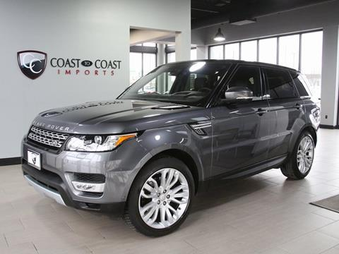 2016 Land Rover Range Rover Sport for sale in Fishers, IN