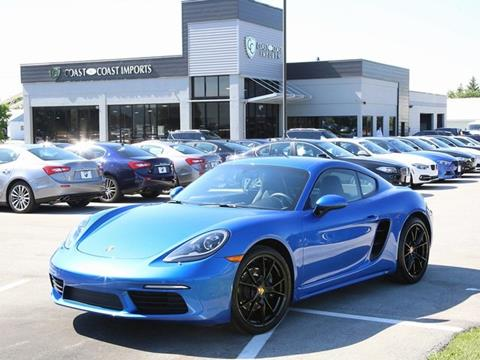 2018 Porsche 718 Cayman for sale in Fishers, IN