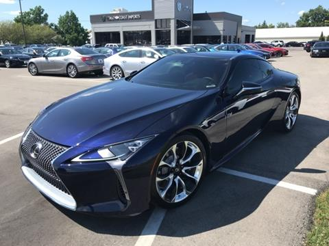 2018 Lexus LC 500 for sale in Fishers, IN