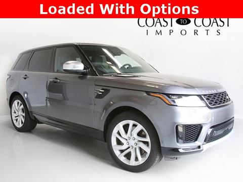 2018 Land Rover Range Rover Sport for sale in Fishers, IN