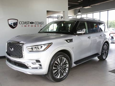 2019 Infiniti QX80 for sale at Coast to Coast Imports in Fishers IN