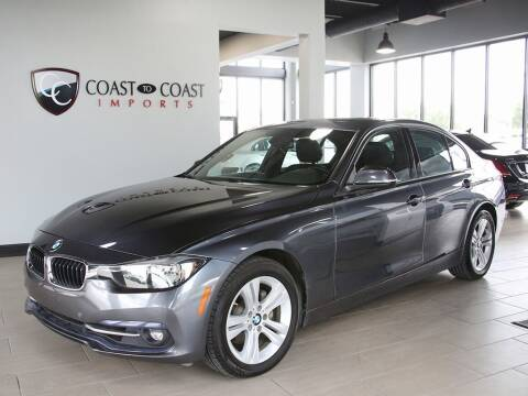 2016 BMW 3 Series for sale at Coast to Coast Imports in Fishers IN
