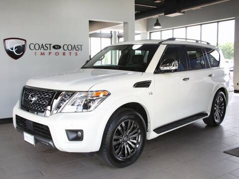 2020 Nissan Armada for sale at Coast to Coast Imports in Fishers IN