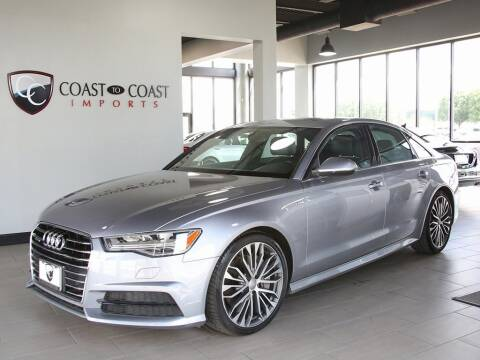 2017 Audi A6 for sale at Coast to Coast Imports in Fishers IN