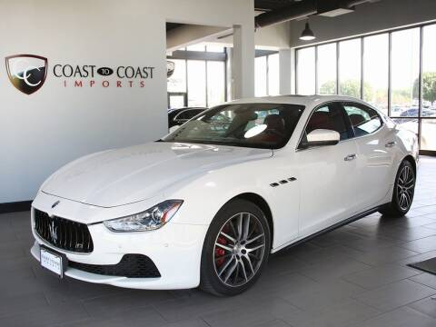 2017 Maserati Ghibli for sale at Coast to Coast Imports in Fishers IN