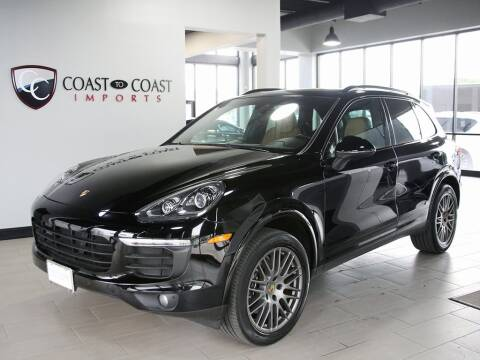 2017 Porsche Cayenne for sale at Coast to Coast Imports in Fishers IN
