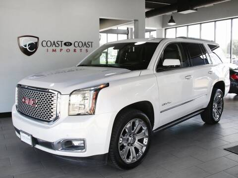 2017 GMC Yukon for sale at Coast to Coast Imports in Fishers IN
