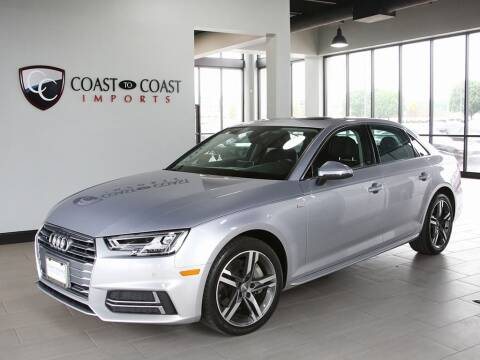 2018 Audi A4 for sale at Coast to Coast Imports in Fishers IN