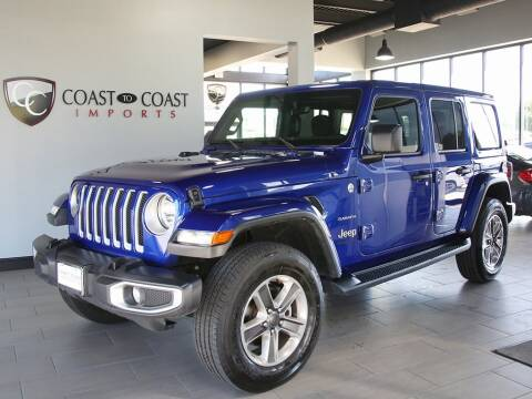 2020 Jeep Wrangler Unlimited for sale at Coast to Coast Imports in Fishers IN