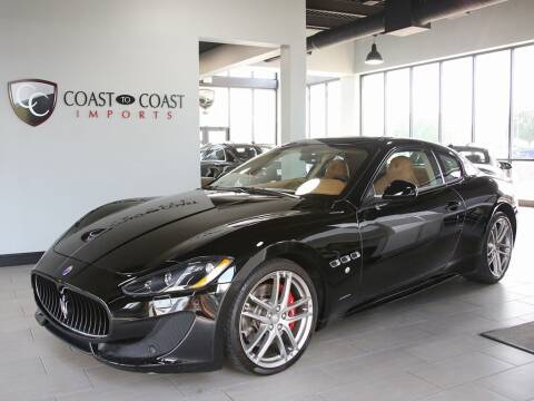 2016 Maserati GranTurismo for sale at Coast to Coast Imports in Fishers IN