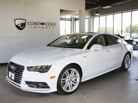 2017 Audi A7 for sale at Coast to Coast Imports in Fishers IN
