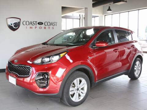 2018 Kia Sportage for sale at Coast to Coast Imports in Fishers IN