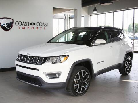 2017 Jeep Compass for sale at Coast to Coast Imports in Fishers IN