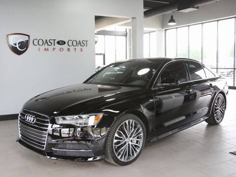 2016 Audi A6 for sale at Coast to Coast Imports in Fishers IN
