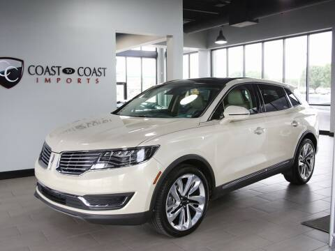 2016 Lincoln MKX for sale at Coast to Coast Imports in Fishers IN