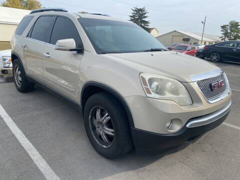 2009 GMC Acadia for sale at Coast to Coast Imports in Fishers IN