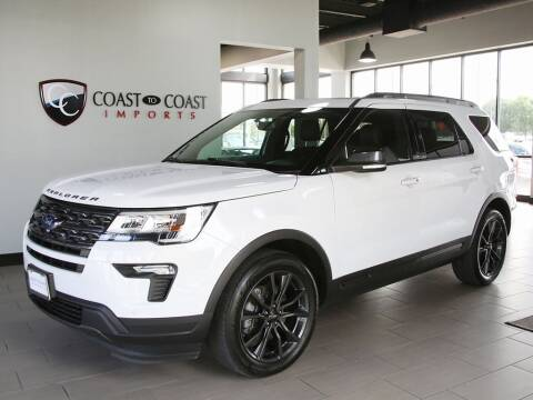 2018 Ford Explorer for sale at Coast to Coast Imports in Fishers IN