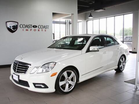2011 Mercedes-Benz E-Class for sale at Coast to Coast Imports in Fishers IN