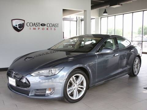 2014 Tesla Model S for sale at Coast to Coast Imports in Fishers IN