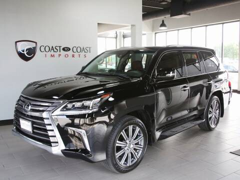 2016 Lexus LX 570 for sale at Coast to Coast Imports in Fishers IN