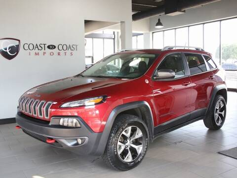 2014 Jeep Cherokee for sale at Coast to Coast Imports in Fishers IN