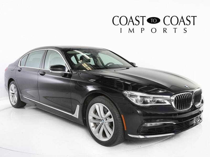 2017 BMW 7 Series for sale at Coast to Coast Imports in Fishers IN