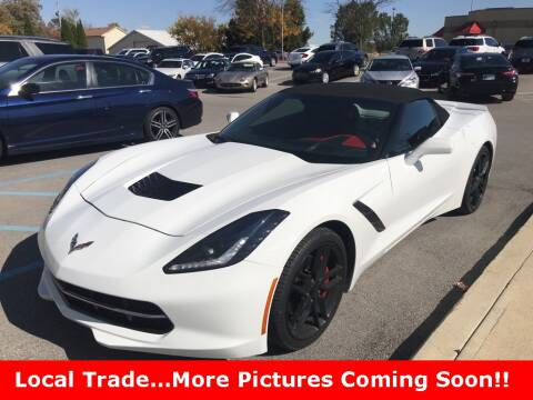 2015 Chevrolet Corvette for sale at Coast to Coast Imports in Fishers IN