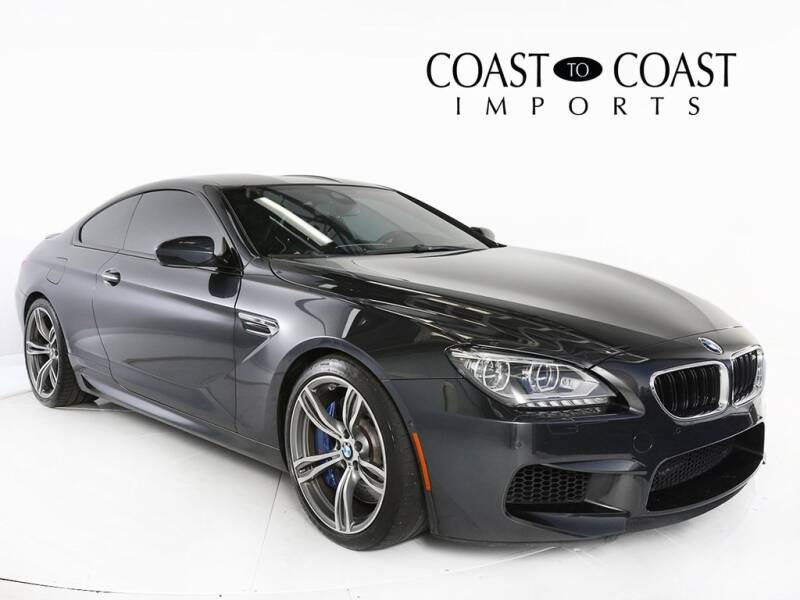 2014 BMW M6 for sale at Coast to Coast Imports in Fishers IN