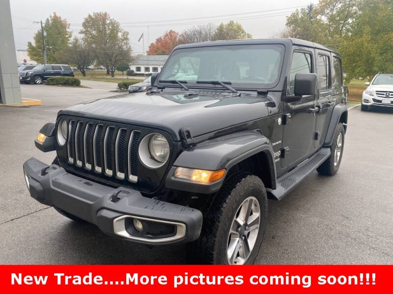 2019 Jeep Wrangler Unlimited for sale at Coast to Coast Imports in Fishers IN
