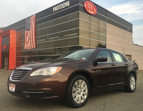 2013 Chrysler 200 for sale in Hackettstown, NJ