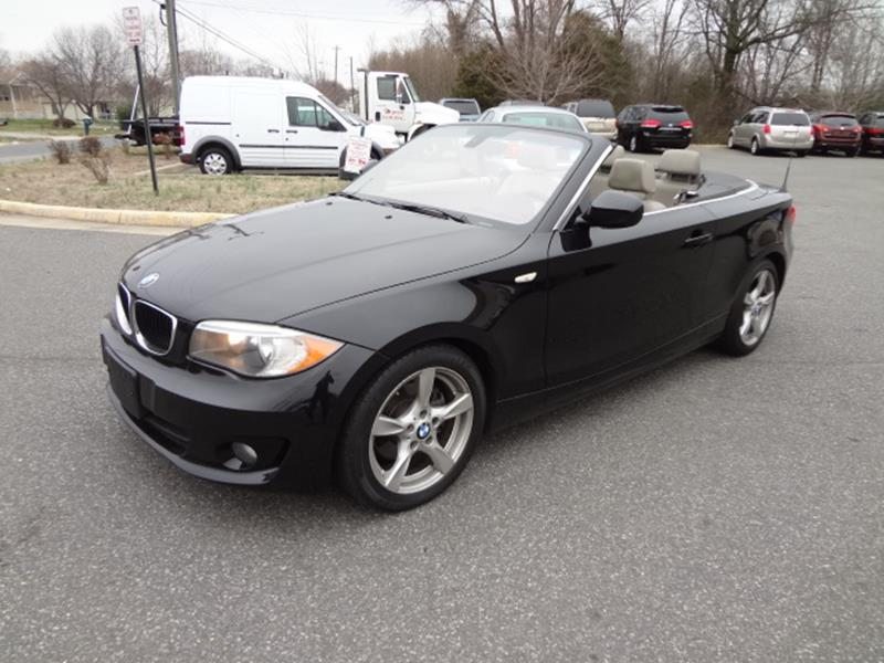 Bmw Series I Dr Convertible SULEV In Fredericksburg VA - 2012 bmw 128i convertible