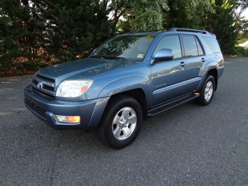 2005 Toyota 4Runner Limited 4WD 4dr SUV   Fredericksburg VA