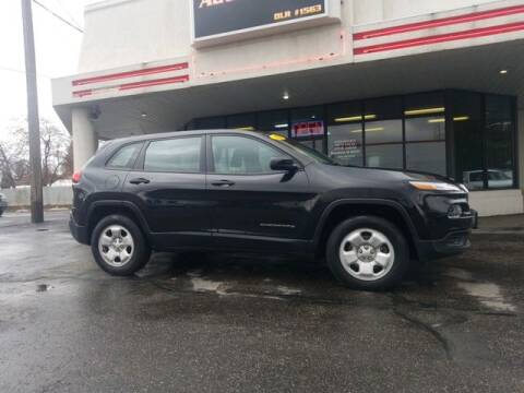 2016 Jeep Cherokee for sale at DEPENDABLE AUTO SALES in Pocatello ID