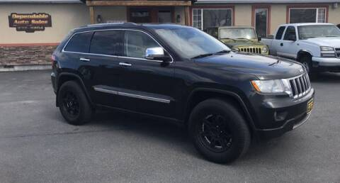 2011 Jeep Grand Cherokee Limited for sale at DEPENDABLE AUTO SALES in Pocatello ID