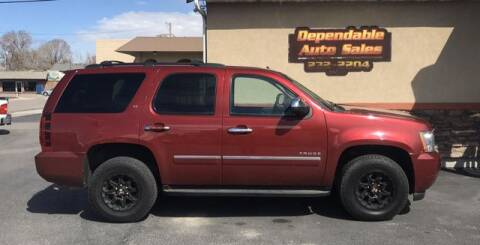 2011 Chevrolet Tahoe LT for sale at DEPENDABLE AUTO SALES in Pocatello ID